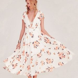 Free People All I Got Midi Dress